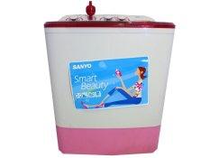 Sanyo SW755XT Mesin Cuci Smart Beauty - 7 KG - Khusus Jabodetabek