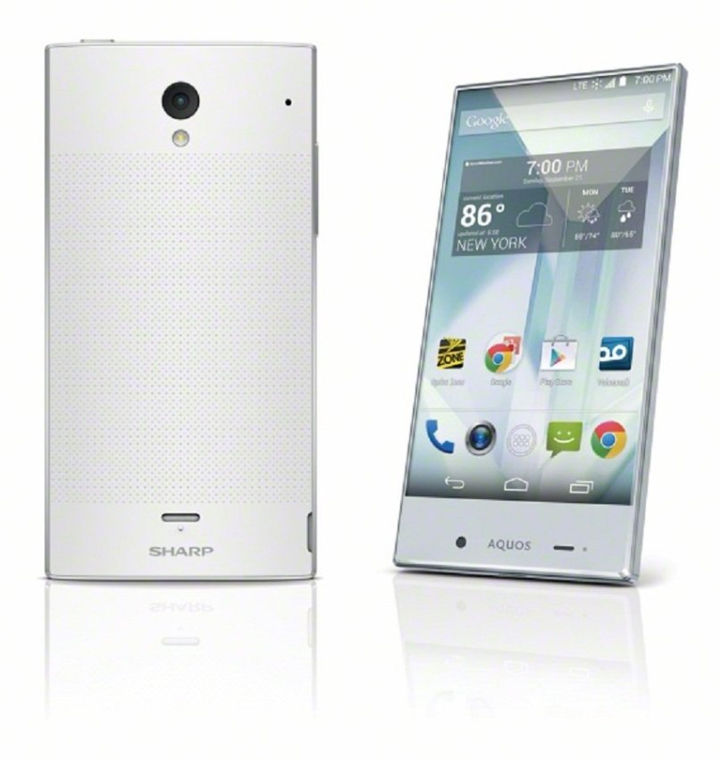 Sharp Aquos Crystal - 8GB - Putih