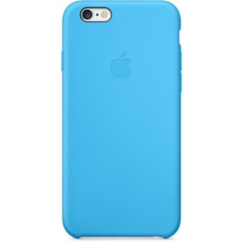 Silicone Case for iPhone 6 4.7 Inch Blue