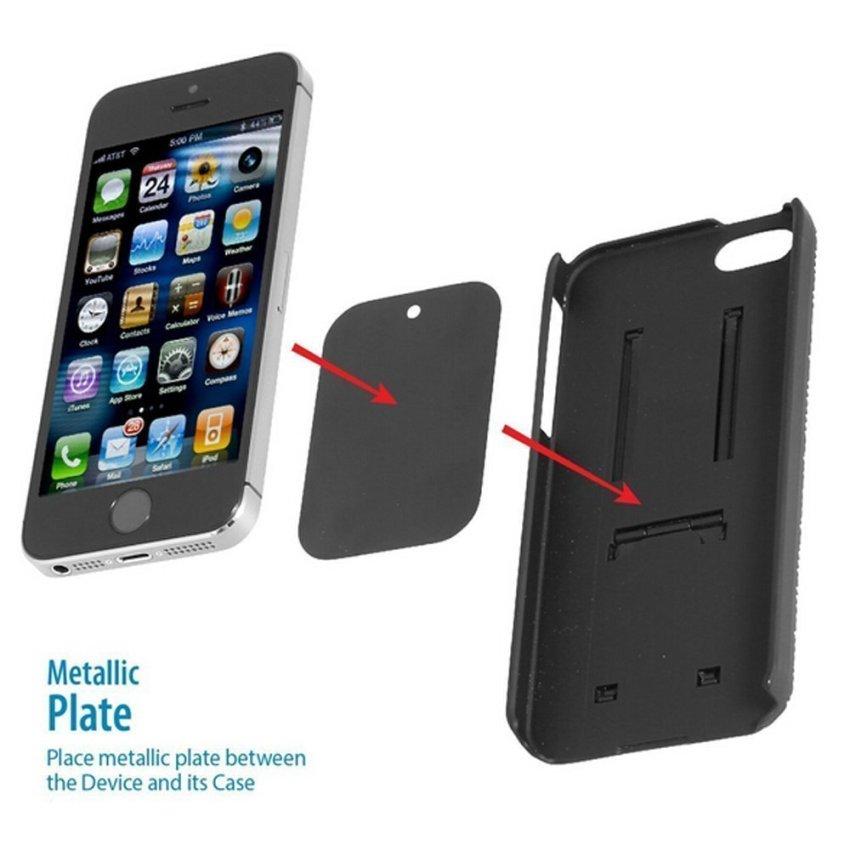 SINOKAL Universal Adjustable CD Player Slot Magnetic Mobile Phone Car Mount Holder (Black) (Intl)