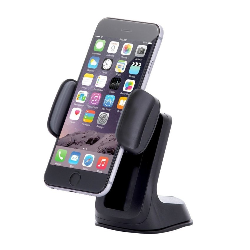 SINOKAL Universal Dashboard Windshield Phone Car Mount Holder For Apple iphone Samsung Nokia (Intl)