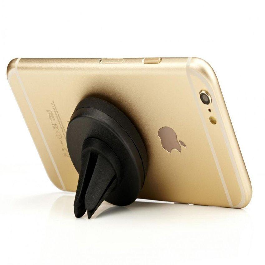 SINOKAL Universal Phone Magnetic Air Vent Car Mount Holder Cradle (Black) (Intl)
