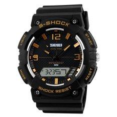 SKMEI Men's Fashion Dual Time Analog-Digital Sport Watch