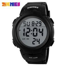 SKMEI Pioneer Sport Watch Water Resistant 50m - DG1068 - Black