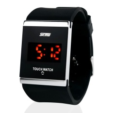 SKMEI Touchwatch LED Watch Water Resistant / Jam LED Gelang - 0983AT - Black