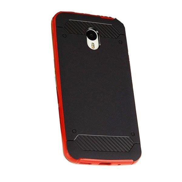 Sky Ultra thin PC+TPU Back Case Meizu M2 Note - Merah