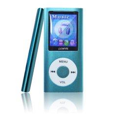 Slim 1.8 TFT Lcd 32GB Mp3 Player (Blue)