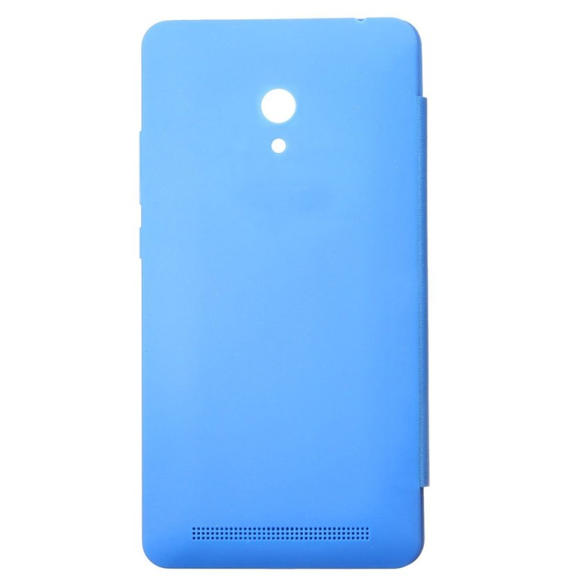 Smart Window Flip PU Leather Hard Cover Case For ASUS Zenfone 2/5/6 (Sky blue) (Intl)