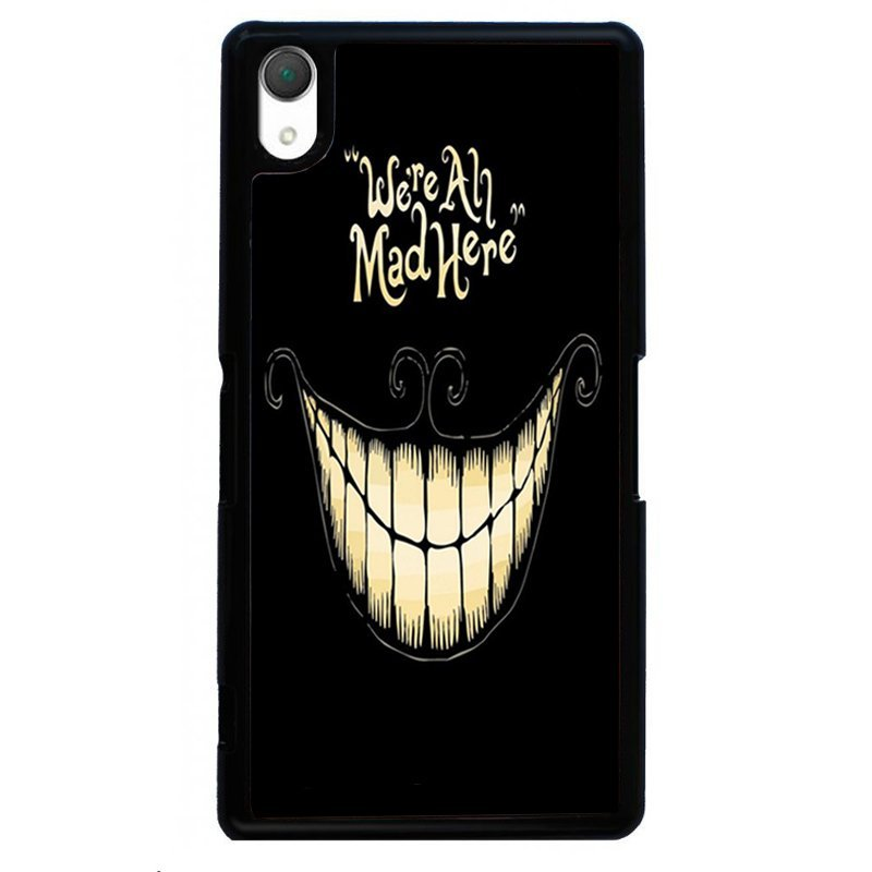 Smile Face Painting Phone Case for SONY Xperia Z4 (Black)