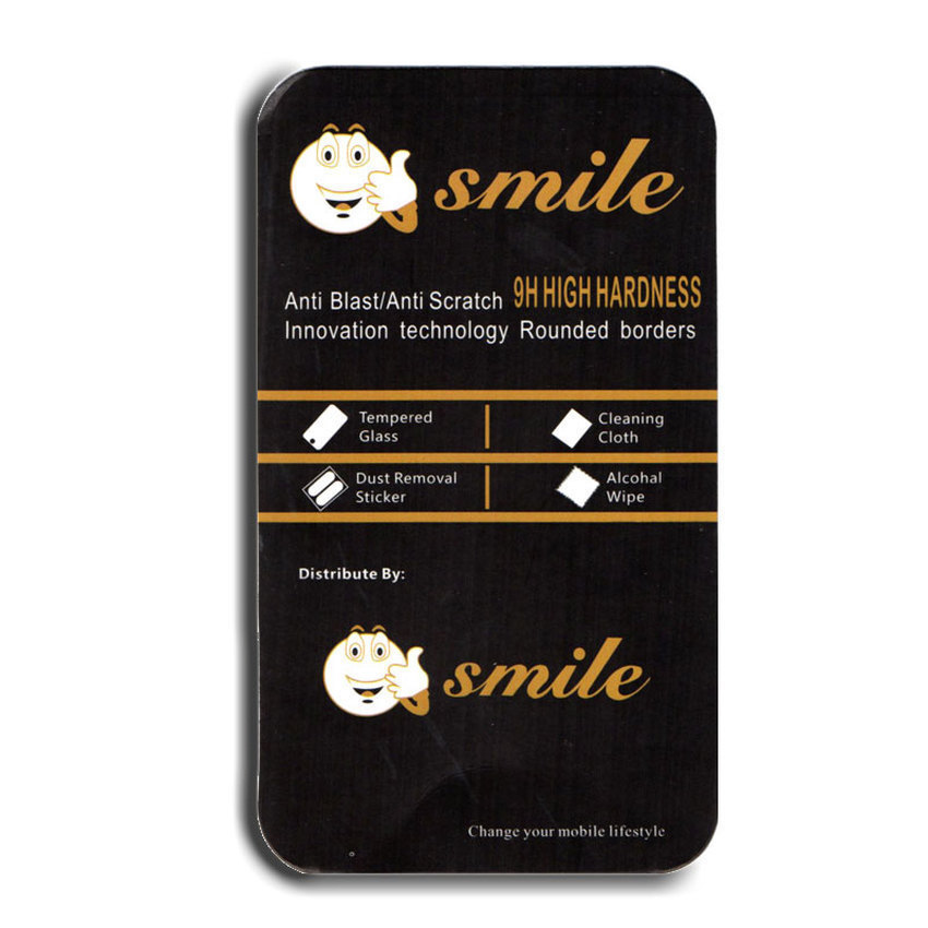 Smile Tempered Glass Screen Protector 0.3mm for Samsung Galaxy E5 -Clear