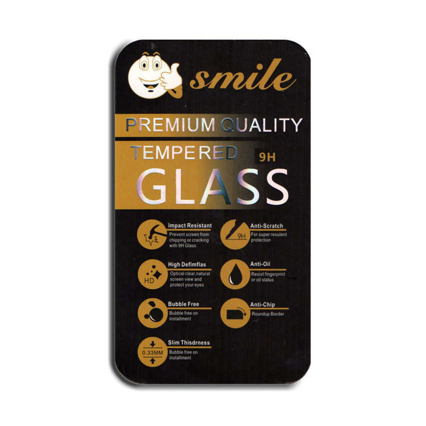 Smile Tempered Glass Screen Protector 0.3mm for Samsung Galaxy E7-Clear