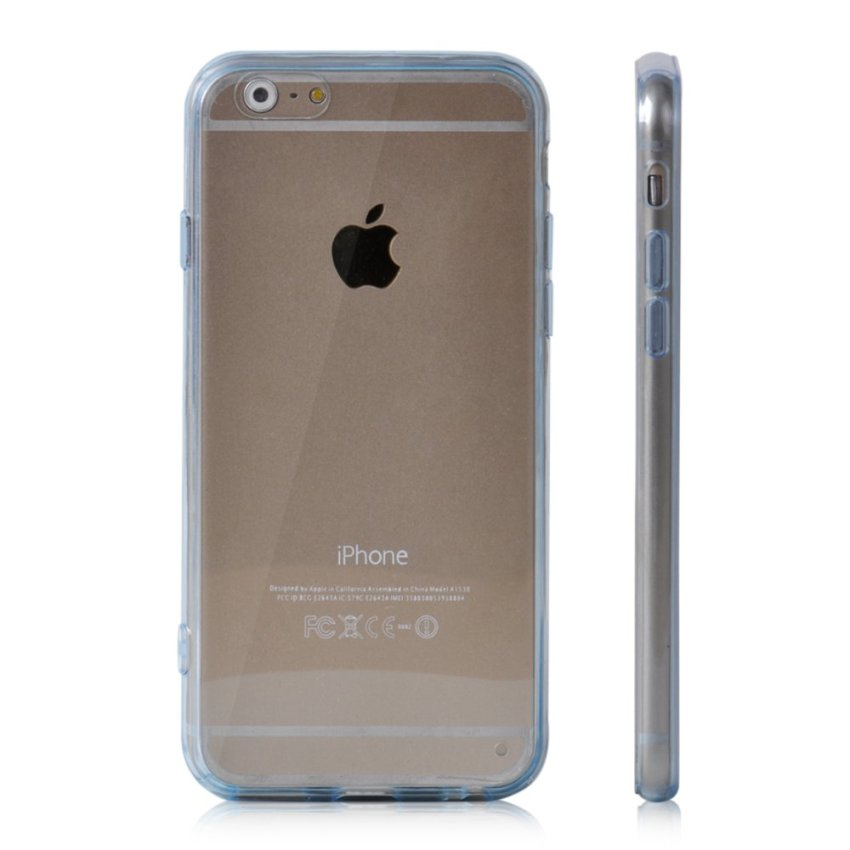 Soft TPU Gel Transparent Crystal Clear Invisible Case Cover Cover For iPhone 6 Plus (Intl)
