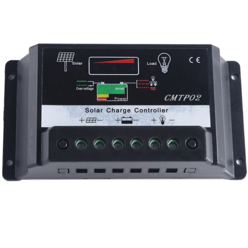 Solar Charge Controller (Black) (Intl)