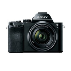 Sony Alpha ILCE-7 - 24.3 MP - Hitam