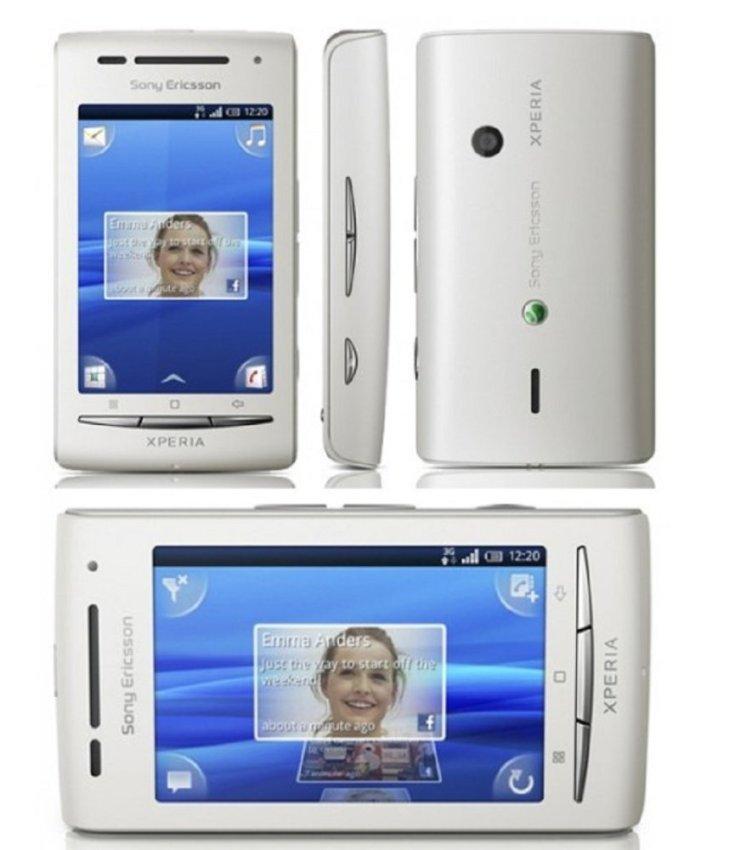 Sony Ericsson E15i X8 - 168MB - Putih