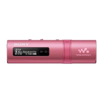 Sony NWZ-B183F Flash MP3 Player With Built-in FM Tuner (4GB) - Pink
