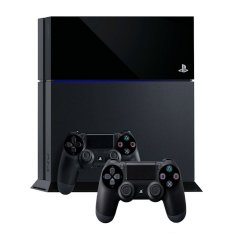 Sony PlayStation 4 - 500 GB - Hitam + 2 Stik
