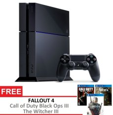 SONY Playstation 4 + Gratis 3 Games