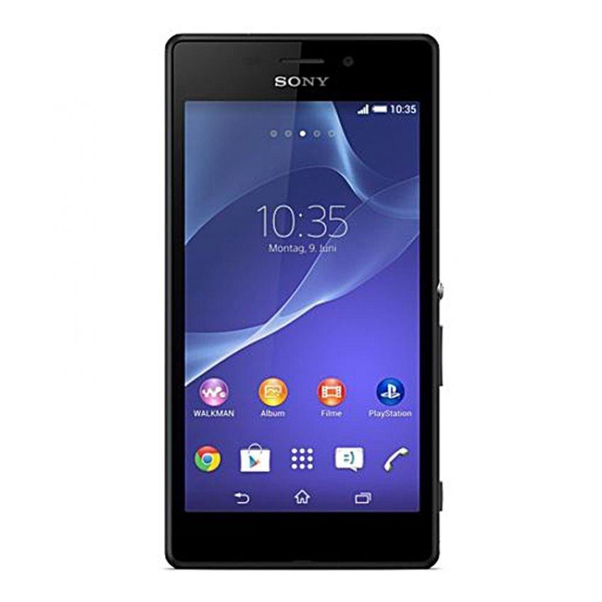 Sony Xperia M2 Aqua - 4G/LTE - Quadcore - RAM 1GB - Tahan Air - 8GB - Hitam
