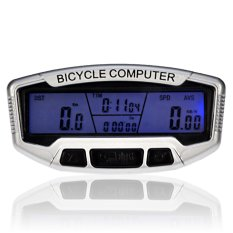 Souesa Precision LCD Bicycle Odometer with Blue Backlight
