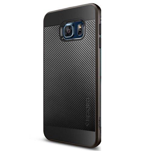 Spigen Neo Hybrid Carbon for Samsung Galaxy s6 Edge Plus – Gunmetal