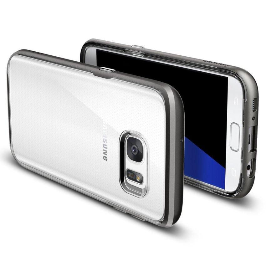 Spigen Neo Hybrid Crystal Samsung Galaxy S7 - Gun Metal