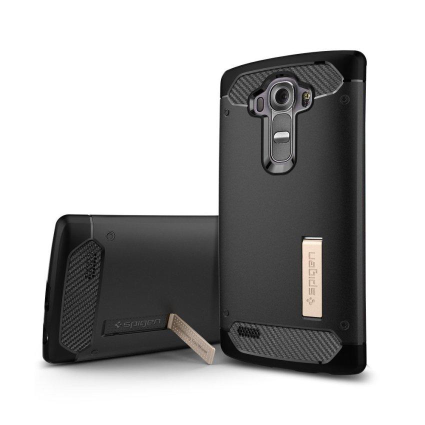 Spigen Rugged Armor Case for LG G4 (Black) (Intl)