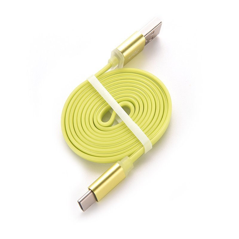 Sporter Colorful Charge Cable for Oneplus 2 Two MacBook (Yellow) (Intl)