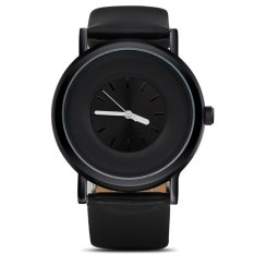 Stylish Design And Simple Style Ladies Watch (Black)