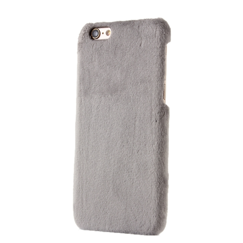 Stylish Solid Color Wistiti Hard Back Cover Protective Back Case for iPhone 6 Plus and 6s Plus(Grey) (Intl)
