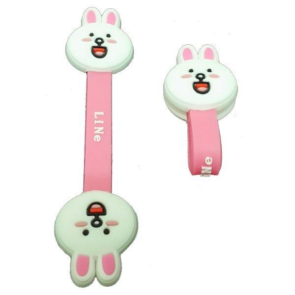Sugu Line Clip Kabel - Pink