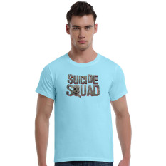 Suicide Squad Dead Cotton Soft Men Short T-Shirt (Powder Blue) - Intl