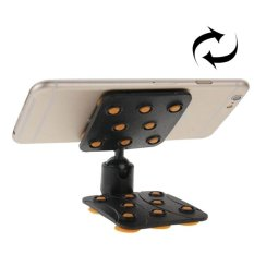 SUNSKY 360 Degree Rotatable Cup Holder / Desktop Stand For IPhone 6 And 6 Plus, IPhone 6S And 6S Plus, Samsung Galaxy S6 Edge + / S6 Edge / S6, HTC, Nokia, Sony (Orange) - Intl