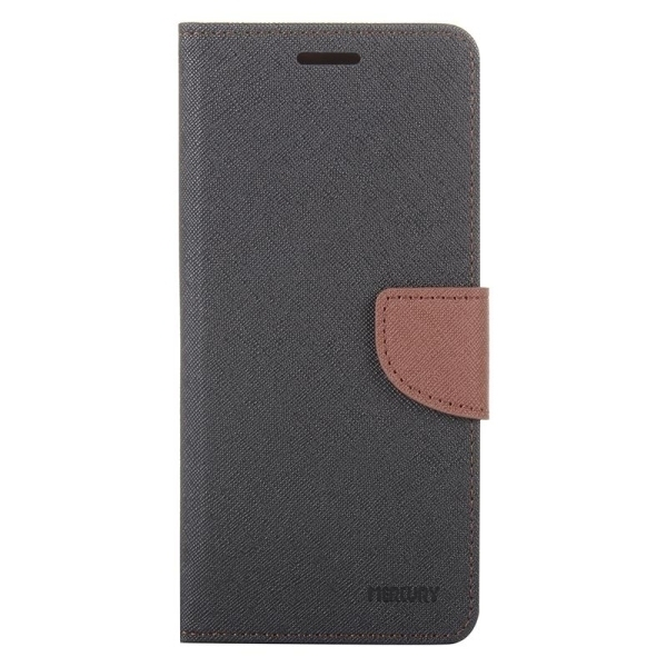 SUNSKY Color Matching Cross Texture Horizontal Flip Leather Cover for Asus Zenfone Selfie / ZD551KL(Grey) (Intl)
