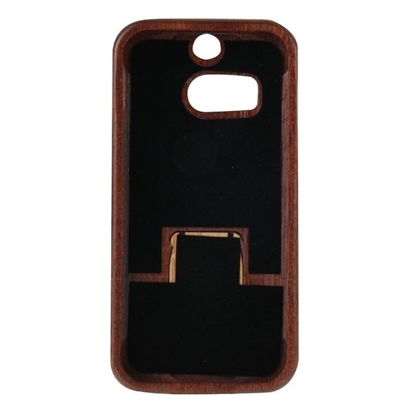 SUNSKY Compass Pattern Separable Sapele Wooden Case for HTC One M8 (Brown) (Intl)