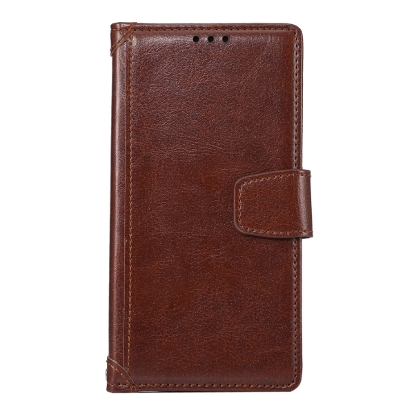 SUNSKY Flip PU Leather PC Cover with Wallet Card Slots Holder for Sony Xperia Z5 (Coffee) (Intl)