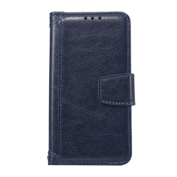 SUNSKY Flip PU Leather PC Cover with Wallet Card Slots Holder for Sony Xperia Z5 Compact / Z5 Mini (Dark Blue) (Intl)