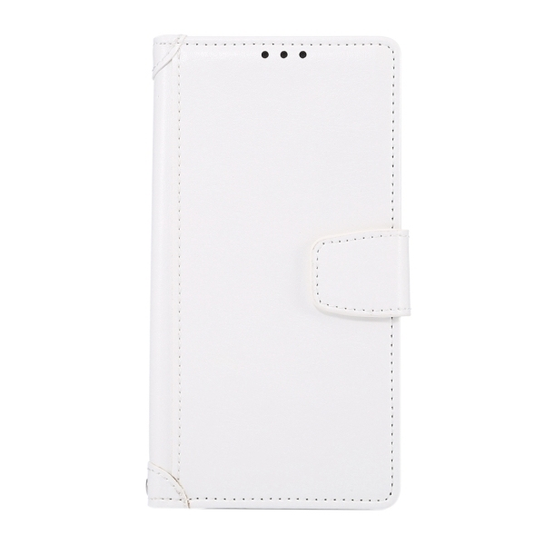 SUNSKY Flip PU Leather PC Cover with Wallet Card Slots Holder for Sony Xperia Z5 (White) (Intl)