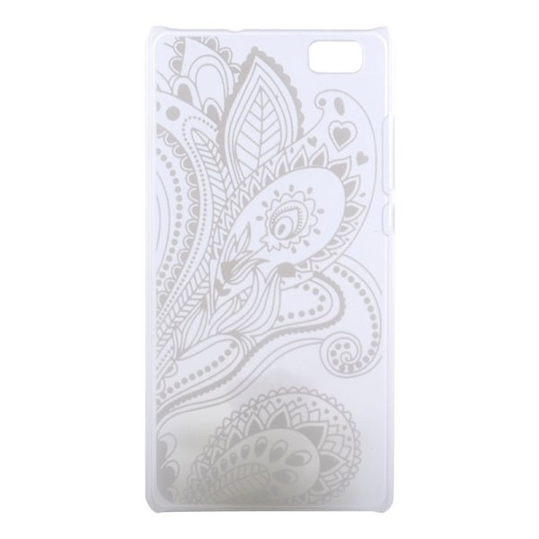 SUNSKY Flower Pattern PC Protective Case for Huawei P8 Lite (Multicolor) (Intl)