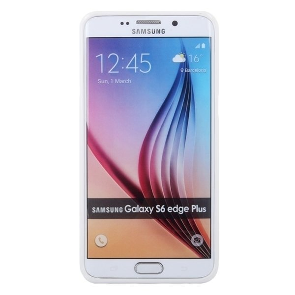 SUNSKY GOOSPERY TPU Protective Back Case for Samsung Galaxy S6 edge+ / G928 (White) (Intl)