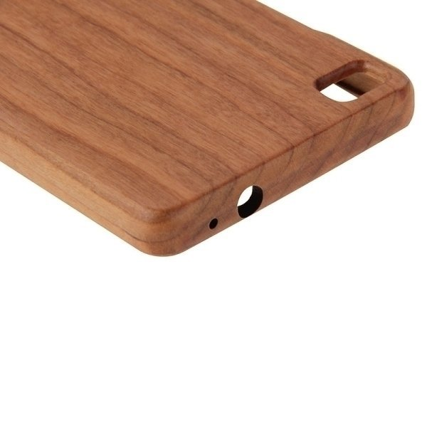 SUNSKY Separable Cherry Wooden Back Case for Huawei P8 (Brown) (Intl)