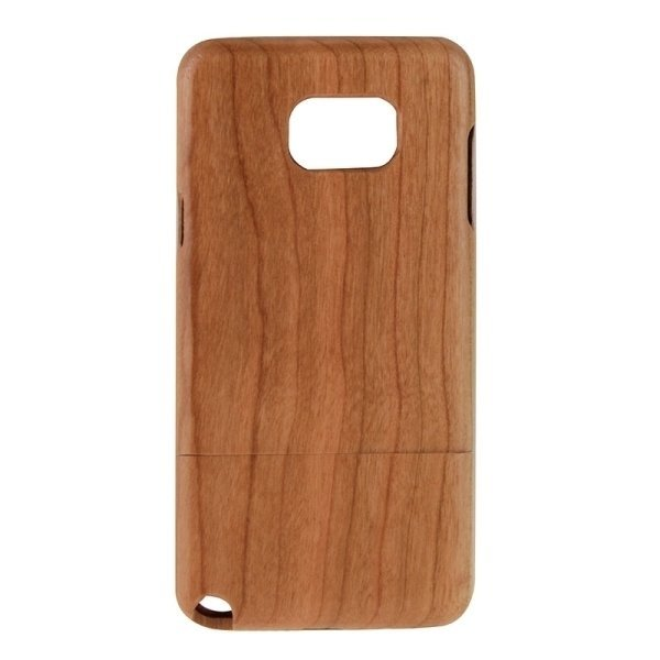 SUNSKY Separable Cherry Wooden Back Case for Samsung Galaxy Note 5 / N920 (Brown) (Intl)