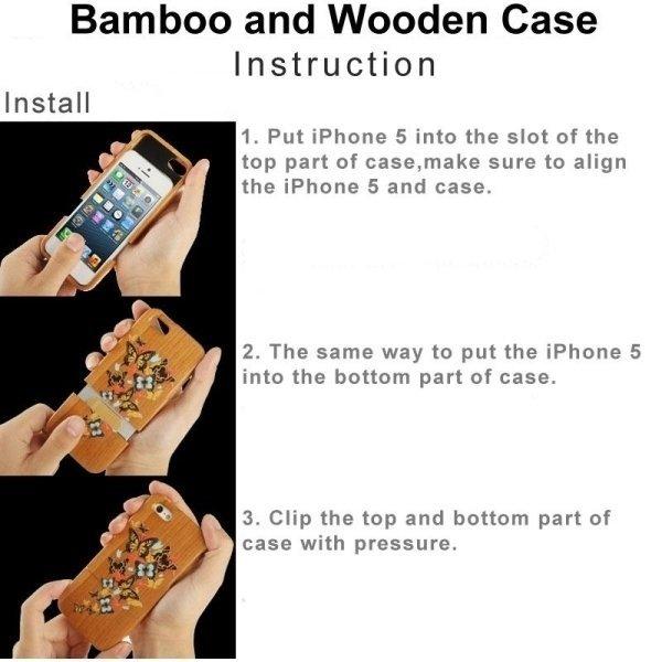SUNSKY Separable Walnut Wooden Back Case for Huawei P8 (Brown) (Intl)