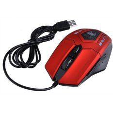 Sunwonder 2400 Dpi Super Optical Gaming Mouse USB Wired Professional Game Mice For PC Computer Desktop Gamer (Red) (Intl)