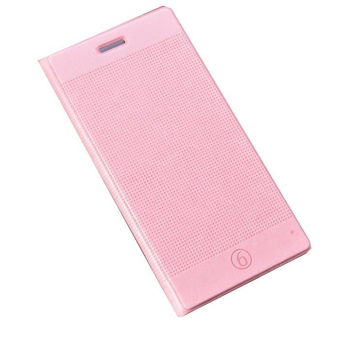 Supercart PU Luxury Slim Flip Stand Cover for Apple iPhone 6/6 Plus 4.7''/5.5'' (Pink) (Intl)