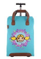 Surfer Girl Bags 2WH SB Chic Traveller Cabin Trolley - Biru