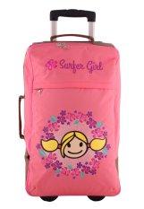Surfer Girl Bags 2WH SB Weekend Gateaway Cabin Trolley - Pink