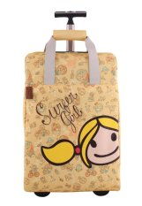 Surfer Girl Bags 2WH TD Chic Traveller Cabin Trolley - Kuning