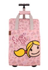 Surfer Girl Bags 2WH TD Chic Traveller Cabin Trolley - Pink