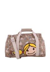 Surfer Girl Bags TD Overnight Duffle Bag - Cokelat